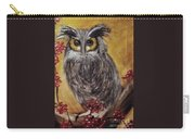 Hooting Carry-all Pouch