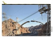 Hoover Dam Bypass Highway Under Construction Carry-all Pouch