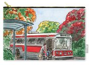Hop On A Bus Carry-all Pouch