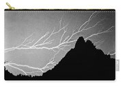 Horizonal Lightning Bw Carry-all Pouch