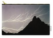 Horizonal Lightning Poster Carry-all Pouch