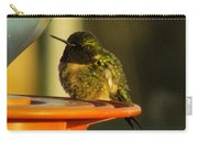 Horizontally Challenged Hummer Carry-all Pouch
