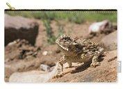 Horned Lizard Carry-all Pouch