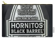 Hornitos Black Barrel Tequila Label Carry-all Pouch