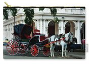 Horse And Buggy In Havana Carry-all Pouch