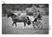 Horse And Cart Carry-all Pouch