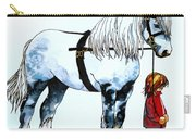 Horse And Groom Carry-all Pouch