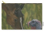 Horse And Turkey Carry-all Pouch