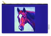 Horse Art Horse Portrait Maduro Psychedelic Carry-all Pouch