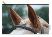 Horse At Attention Carry-all Pouch