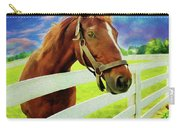 Horse By Nicholas Nixo Efthimiou Carry-all Pouch