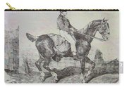 Horse Carriage Carry-all Pouch