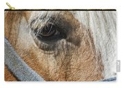 Horse Close Up Carry-all Pouch