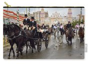 Horse Drawn Carriages And Women On Horseback Riding Sidesaddle O Carry-all Pouch