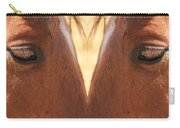 Horse Eyes Love Carry-all Pouch
