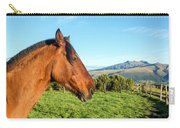 Horse Head Closeup Carry-all Pouch