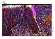 Horse Head Horse Head  Carry-all Pouch