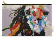 Puzzle Horse Head  Carry-all Pouch by Rosario Piazza