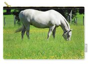 Horse In A Field Of Flowers Carry-all Pouch