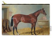 Horse In A Stable Carry-all Pouch by John Frederick Herring Snr