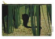 Horse In The Grass Carry-all Pouch