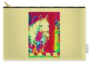 Horse Painting Jumper No Faults Psychedelic Carry-all Pouch