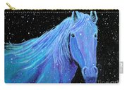 Horse-midnight Snow Carry-all Pouch