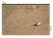 Horse On Canyon Floor Carry-all Pouch