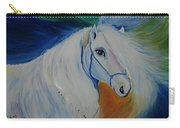 Horse Painting- Knight In Dream Carry-all Pouch