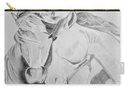 Horse Pair Carry-all Pouch