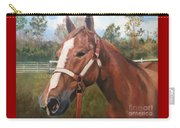 Red Dun Horse - Reds Done Dancin By Marilyn Nolan-johnson Carry-all Pouch