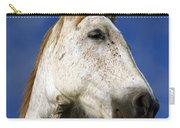 Horse Portrait Carry-all Pouch by Gaspar Avila