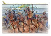 Horse Pull At The Fair Carry-all Pouch