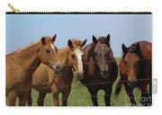 Horse Quartet Carry-all Pouch