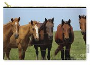 Horse Quintet Carry-all Pouch