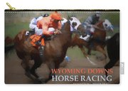 Race To Your Dreams Carry-all Pouch by Alexandra Ortiz de Fargher
