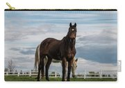 Horses #3 Carry-all Pouch