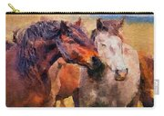 Horse Snuggle Carry-all Pouch