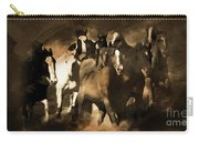 Horse Stampede Art 08a Carry-all Pouch
