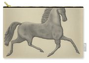 Horse Weather Vane Carry-all Pouch