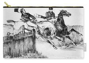 Horseback Riders, C1840 Carry-all Pouch