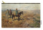 Horsemen In The Hills Carry-all Pouch