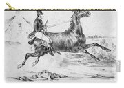 Horserider, C1840 Carry-all Pouch