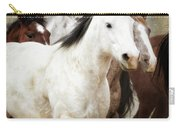 Horses-01 Carry-all Pouch