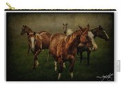 Horses 31 Carry-all Pouch
