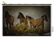 Horses 34 Carry-all Pouch