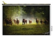 Horses 36 Carry-all Pouch