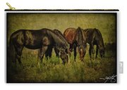 Horses 37 Carry-all Pouch
