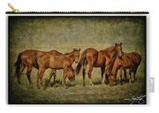 Horses 38 Carry-all Pouch