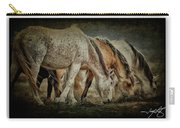 Horses 39 Carry-all Pouch